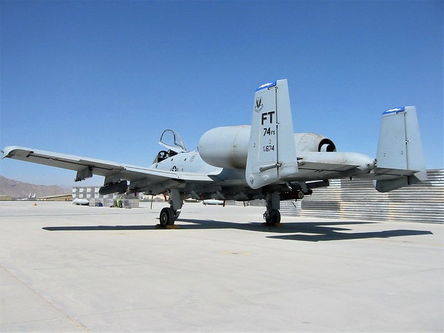 A-10C Thunderbolt-II 78-0674/FT 74FS Commanders flagship Aircraft. 74th FS/23rd WING
