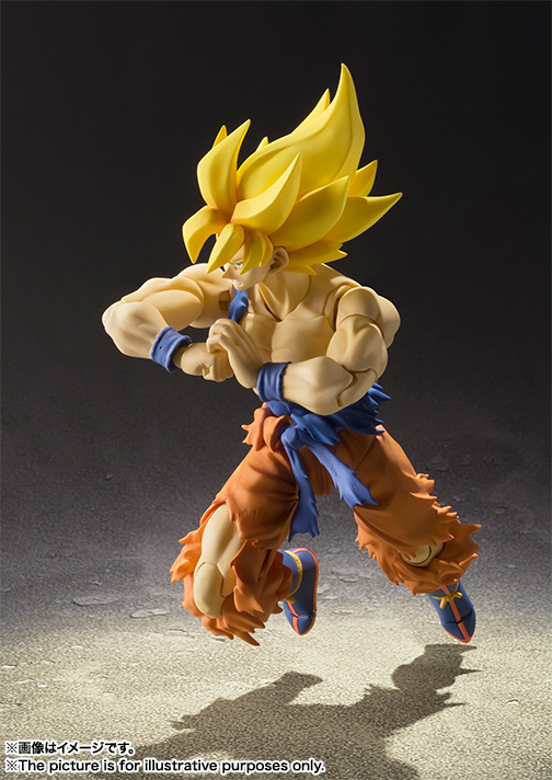 Action figure Goku Super Saiyan warior awakening SHF (Chính hãng) - Dragon Ball