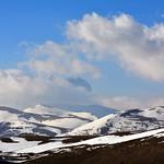 Il Corno Grande tra le nuvole