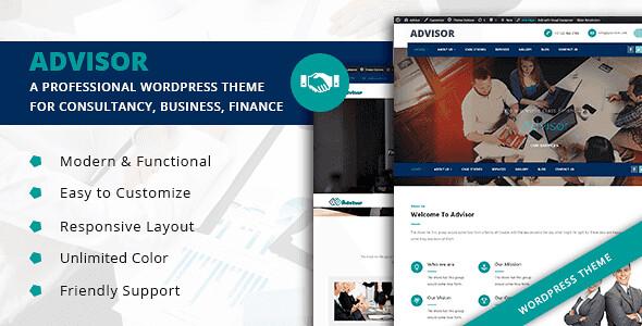 Advisor WordPress Theme free download
