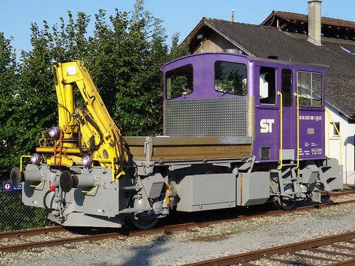 ST Maintenance diesel motor unit type Tm232 596.