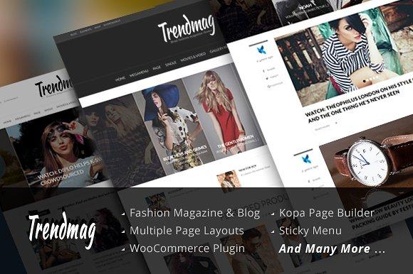 Trend Mag v2.0.4 – Modern Magazine WordPress