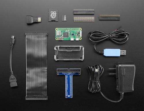 Raspberry Pi Zero W Starter Pack - Includes Pi Zero W