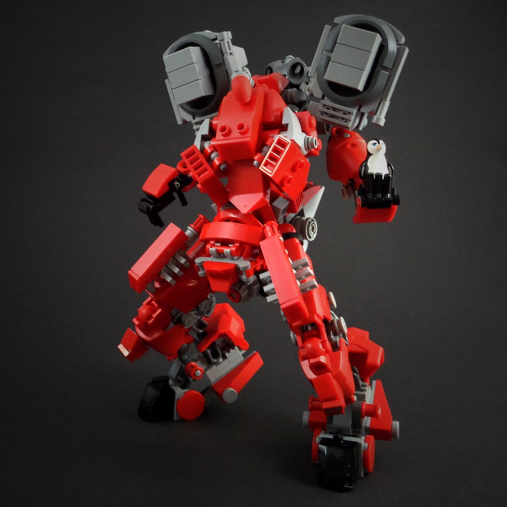 PNG-3 Mech (custom built Lego model)