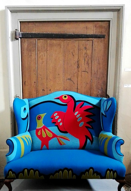 Helena Lynch chair at Norfolk by Design's Houghton Hall exhibition