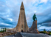 Hallgrimskirkja Church Reykjavik Iceland