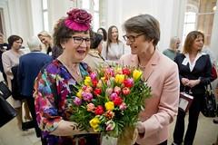 Festlicher Frühjahrskaffee mit Gerlinde Kretschmann