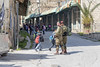 Terrifying road to school and nursery for Palestinian kids in Hebron, Palestine