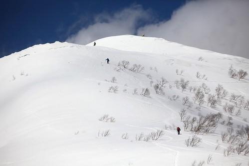 オコタンペ山、漁岳登山
