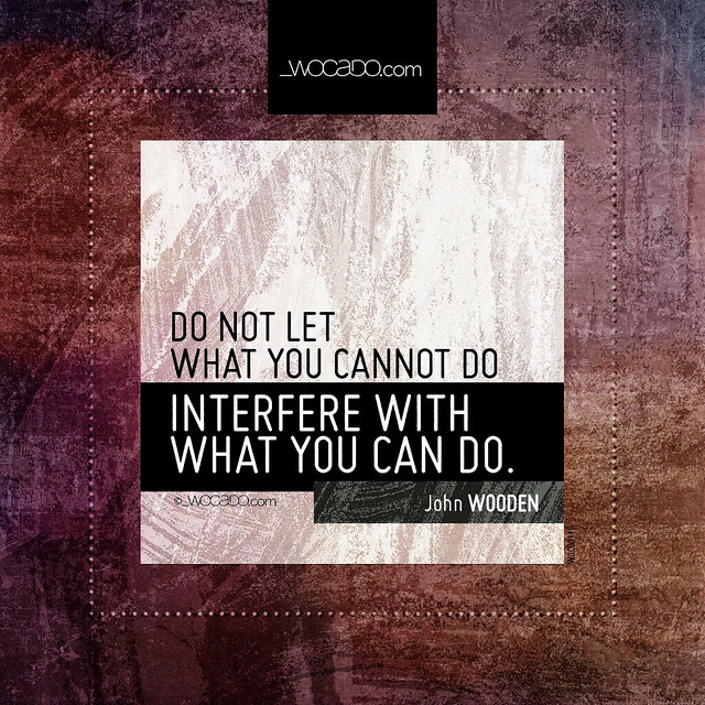 Do not let what you cannot do by WOCADO.com