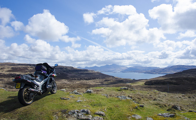 ZZR on Mull