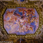 A Magnificent Painted Ceiling in the Belvedere