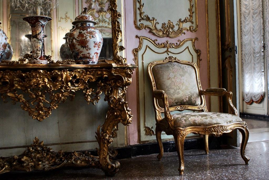 A l'intérieur du Palazzo Reale à Gênes.