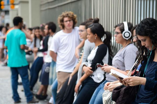Segundo dia de provas do Enem 2016 no Rio de Janeiro - Créditos: Tomaz Silva / Agência Brasil