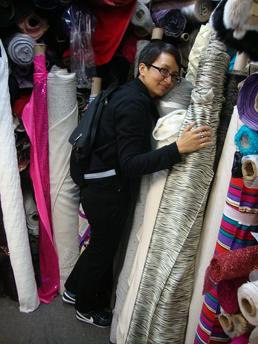 Antoinette at Truemart Discount Fabrics