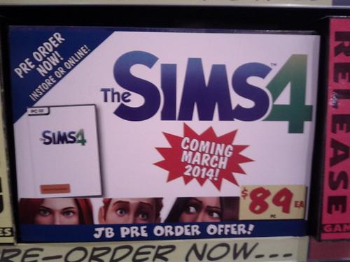 Sims 4 Pre Order