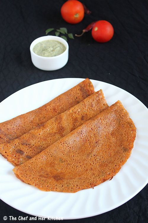 tomato dosa using dosa batter