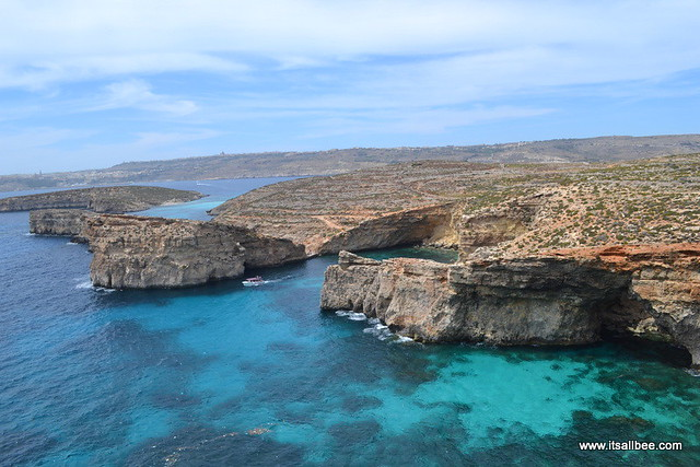 View From Comino Island