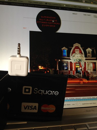 We're so square at Nuit Blanche Ottawa+Gatineau #NBOG13