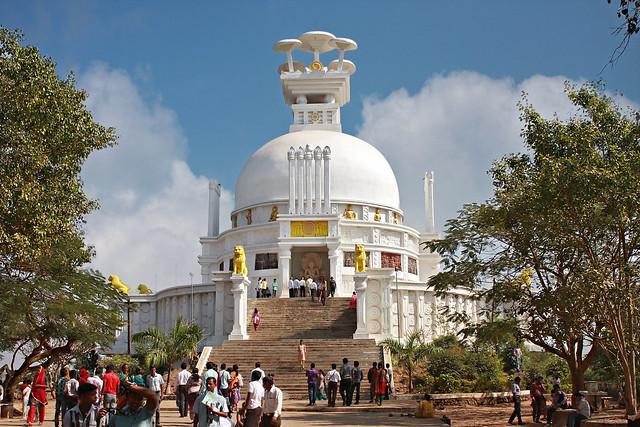 Dhaulagiri, Shanti Stupa, Buddha, Bhubaneswar, Odisha