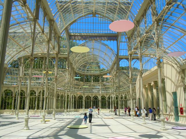 Se or del biombo el palacio de cristal de madrid - Fabricas de cristal en espana ...