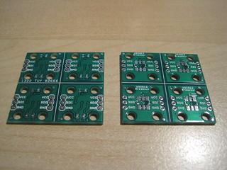 WS2812 Breakout boards
