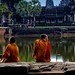 Young Monks at Angkor Wat