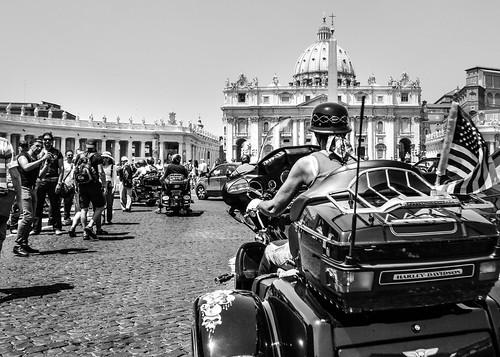 Harley Davidson in Rome