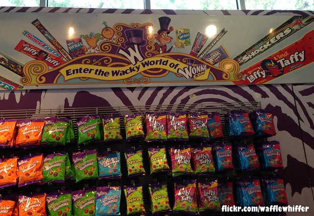 Six Flags / Wonka Candy Display - 2013