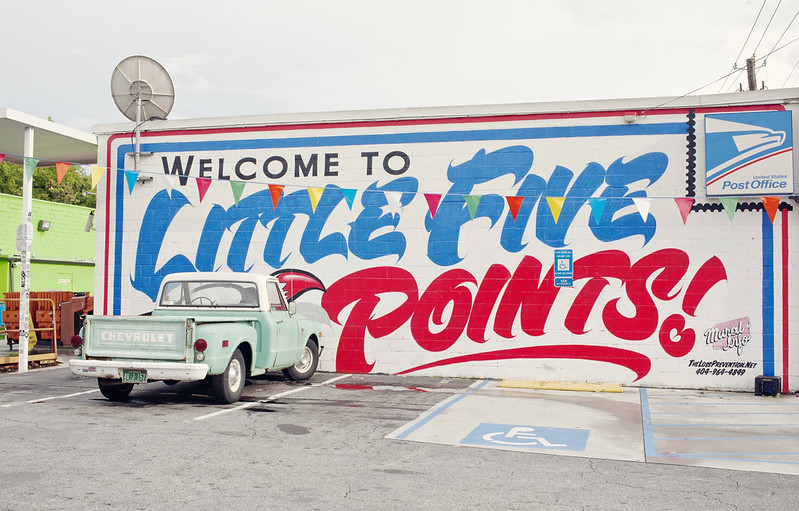 little five points, atlanta, ga