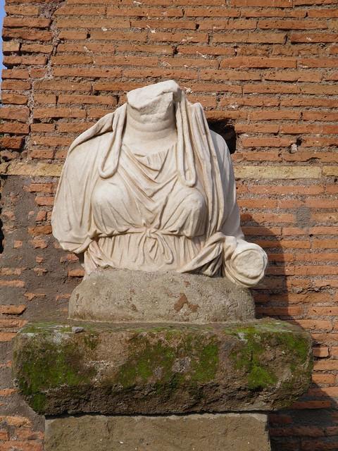 House of the Vestal Virgins (Atrium Vestae), The Upper Via Sacra, Rome