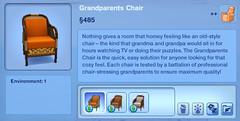 Grandparents Chair