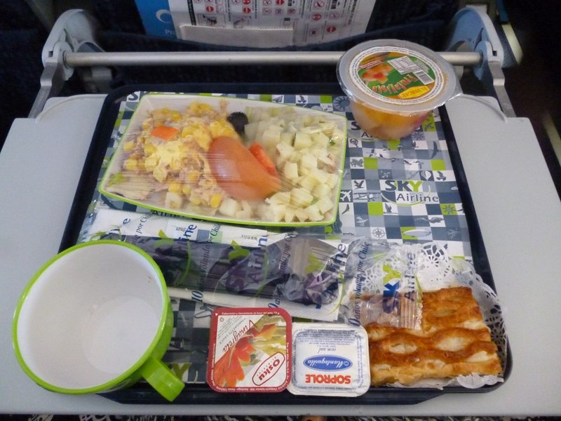 Sky Airline food