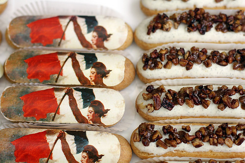 eclairs july 14 and pecan