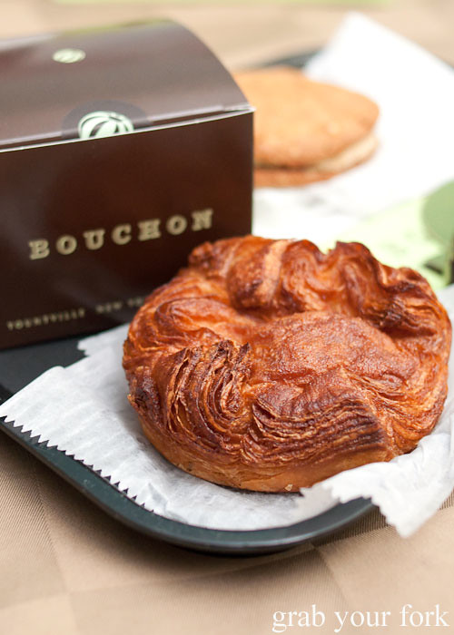 kouign amann from bouchon bakery beverly hills la los angeles