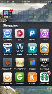 iPhone Apps - Shopping