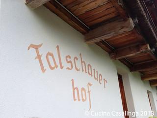Meran - Falschauer Hof - Wand