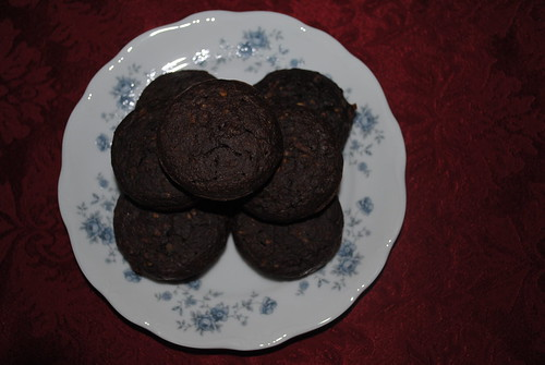 Chocolate Zucchini Muffins (2)