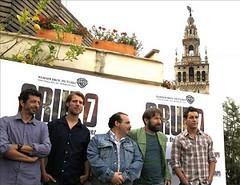 El actor de Grupo 7 José Manuel Poga estará esta noche en el Cine de Verano del Mercado de la Cruzcampo