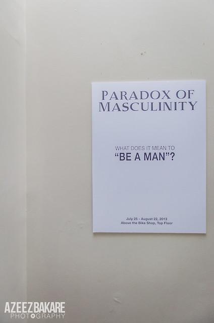 Paradox of Masculinity - Photos by Azeez Bakare