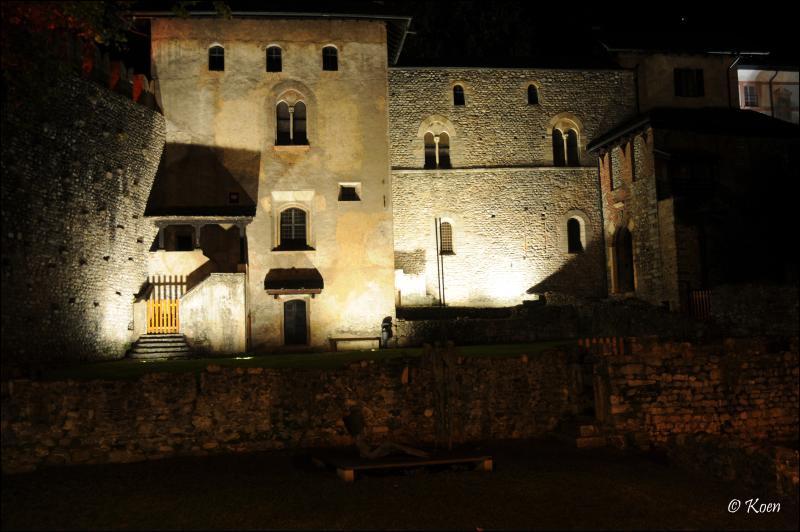 El Locarno más medieval. Autor, Koen