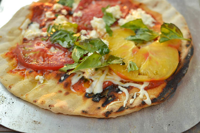 It's Time to Grill Your Pizza via LittleFerraroKitchen.com