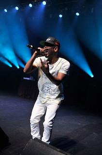 Pics Ludacris , Kendrick Lamar & Miguel perfoming @ Bud Light 50 50