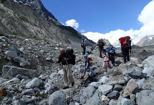 russia climbing caucasus mountaineering bezengi безенги glacierulluchiran ледникбезенги ледникуллучиран