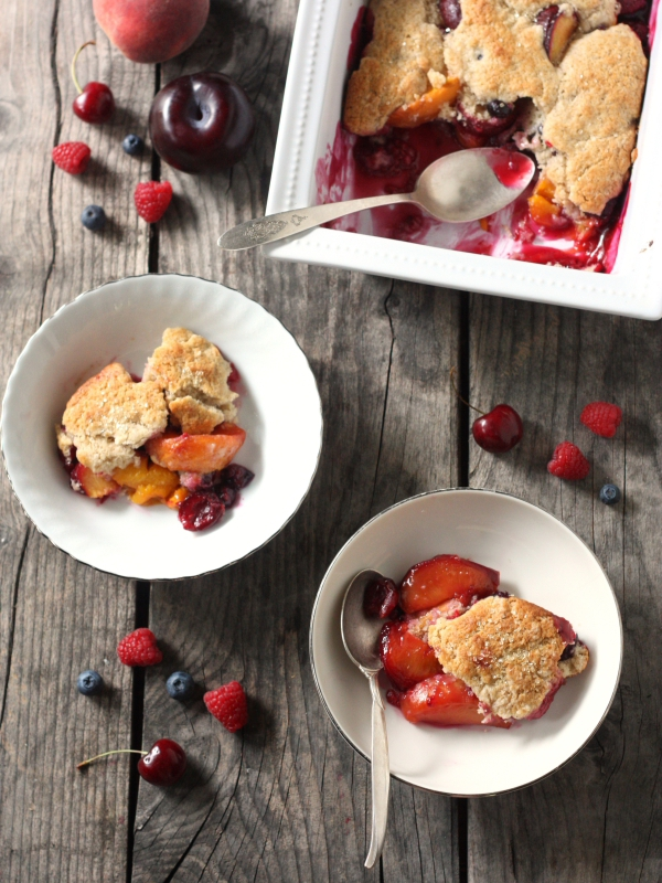 Ultimate Summer Fruit Cobbler
