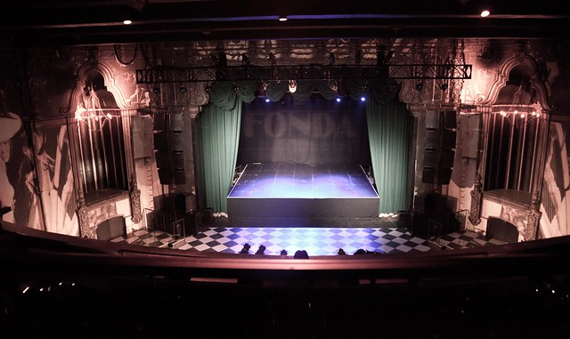 The Fonda Theatre by Moby