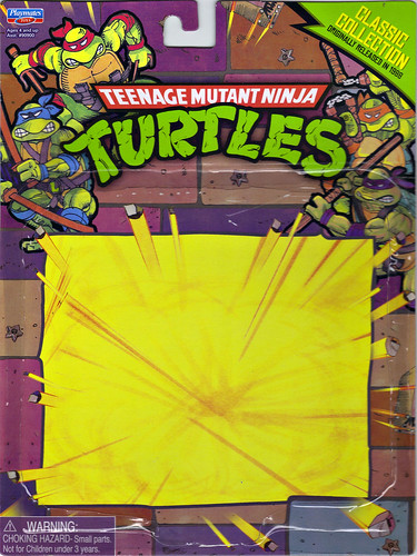 TEENAGE MUTANT NINJA TURTLES - CLASSIC COLLECTION :: 'RETRO' SPLINTER ..card backer i (( 2013 ))