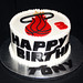 Miami heat cake (tony)