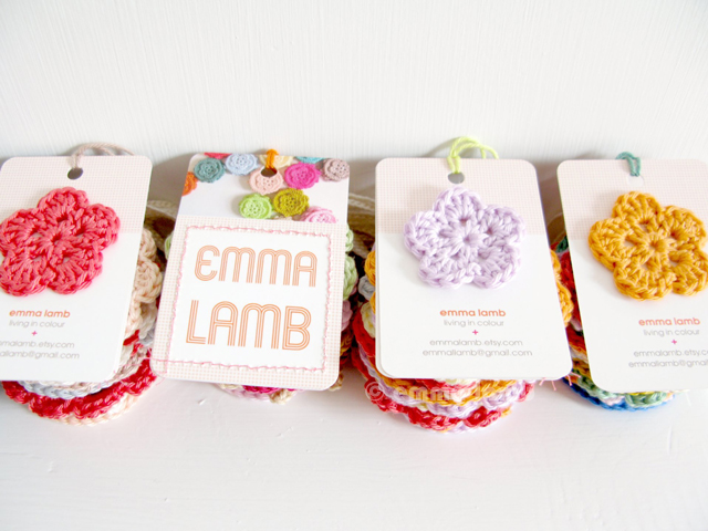 Swing tags with my new branding, I love them so much! | Emma Lamb