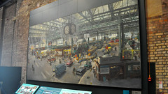 Waterloo Station by Terence Cuneo, National Railway Museum